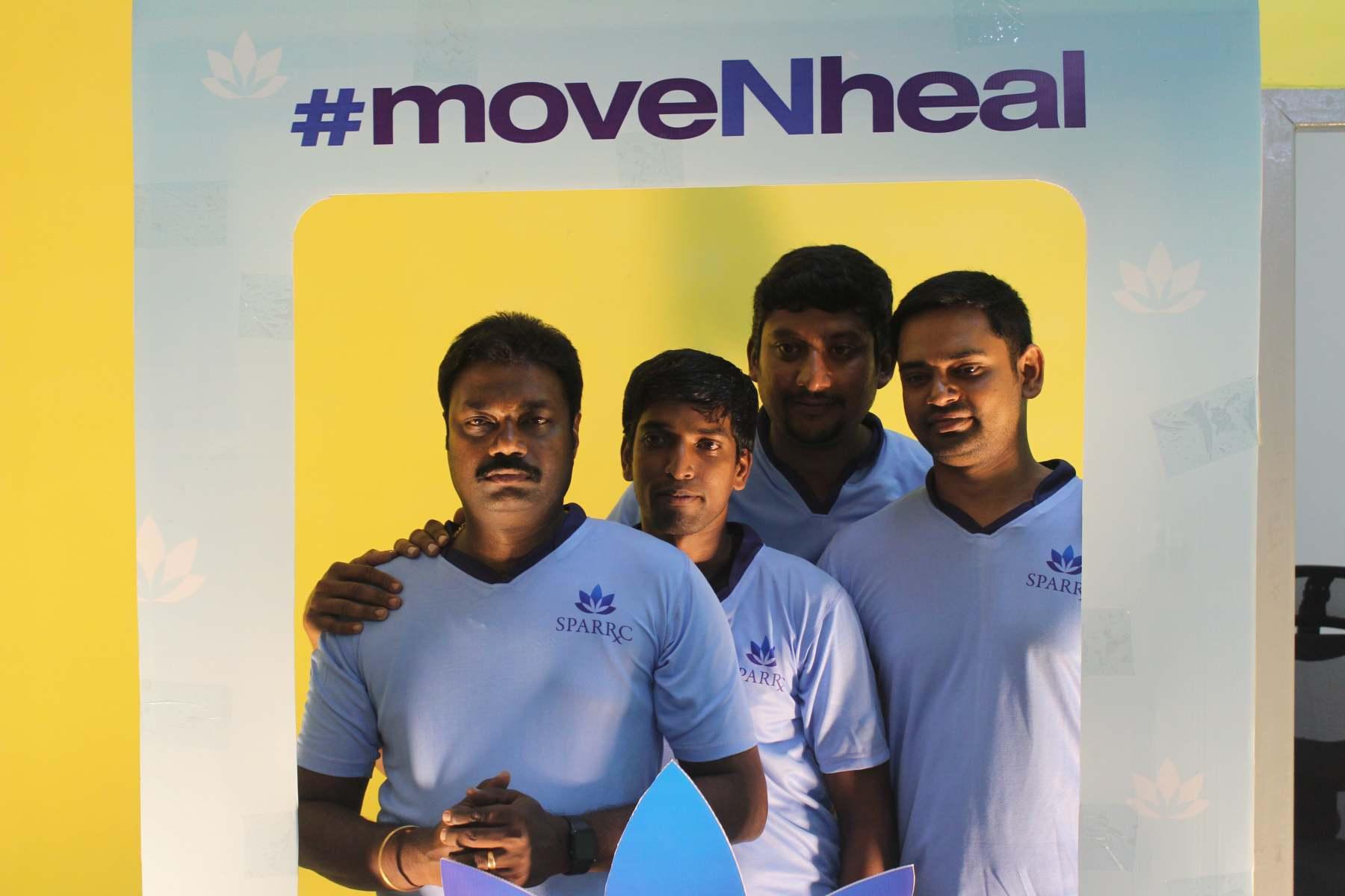 #moveNheal Selfie frame